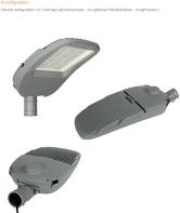 Luz de calle HST3030-30-200W-QSD